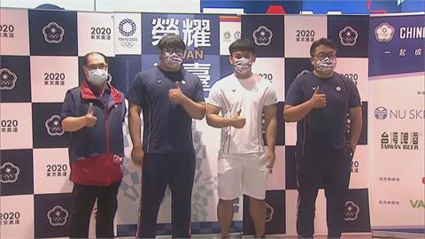 東奧/台灣舉重隊今返台 陳柏任、謝昀庭提展望:明年亞運為台灣奪牌