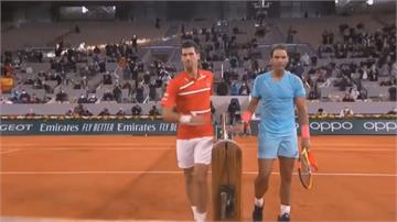 法網男單冠軍戰世紀對決直落三擊敗世界球王 納達爾奪冠
