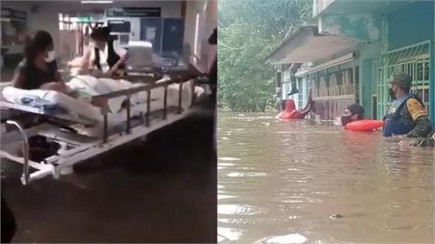 搶救畫面曝光!墨西哥中部暴雨襲擊 「醫院斷電供氧中斷」17名病患死亡