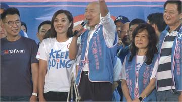 快新聞/韓國瑜又曝金句:明天投票「買一送一」 讓陳其邁做行政院長