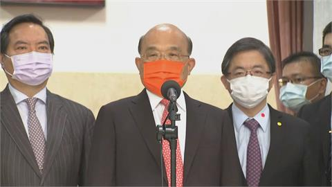 快新聞/「國民黨對中國剽竊歷史不敢回應還跟著唱和」 蘇貞昌:深感不齒