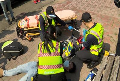 「聽見AED」警報器搭APP趕在救護車前施救 消防員電話即時指導提高存活率