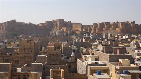 全球/印度黃金之城! 邂逅百年「賈沙梅爾堡」