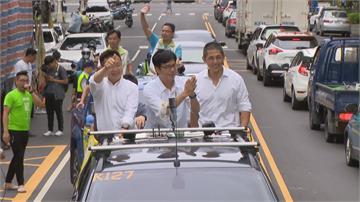 吳怡農陪陳其邁掃街拜票 批港府籲「高雄成香港人避風港」