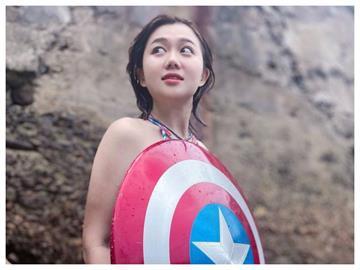 香港白雲「仰天比基尼」泡泳池 天使視角網羨慕:出水芙蓉!