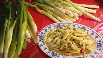 外型細長 口感脆中帶嫩三芝茭白筍產季到