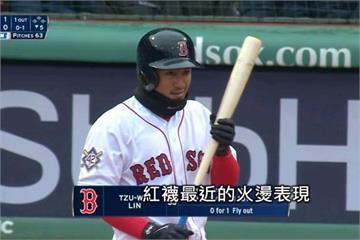 林子偉連三場雙安打 進帳本季首分打點