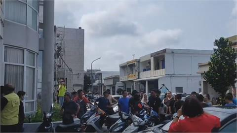 綠島南寮大道道路改善工程憂影響暑假觀光旺季 居民聚鄉代會抗議