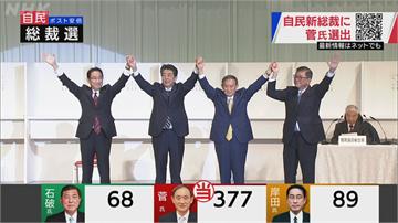快新聞/友台菅義偉將成新任日本首相 外交部祝賀:期盼台日友好關係蓬勃發展
