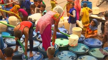 印度清奈雨季延遲 政府火車運水緩解乾旱