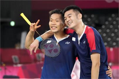 東奧/「黃金男雙」李洋與王齊麟4強賽事時間出爐 將遇上「大魔王」爭冠軍門票!