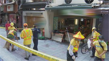 轟!北市漢堡店傳氣爆意外桌子 椅子全炸飛散落馬路