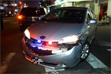 被圍捕不想就範 毒蟲衝撞警車逃逸1人傷