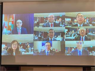 快新聞/台灣約旦雙邊投資會議討論後疫情經濟 外交部常務次:要把握機會發掘商機