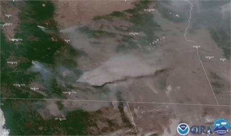高溫熱浪林火肆虐 美國西岸多人熱死