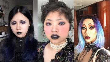 「哥德系」妝容太恐怖?中國女搭地鐵被要求先卸妝 網友紛紛PO照聲援