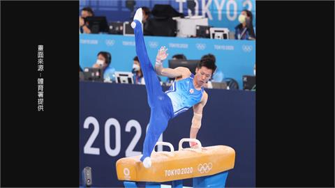 「鞍馬王子」李智凱 15.400分勇奪奧運銀牌