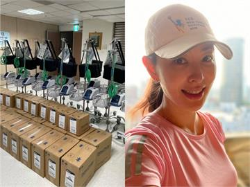 賈永婕募資捐252台「救命神器」!親回應進度:捐贈數量還在增加