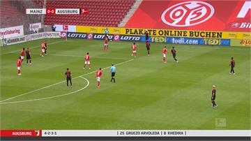 足球/德甲復賽無觀眾 開賽45秒就進球卻超冷清