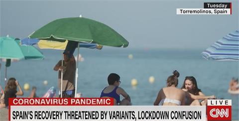 歐洲防疫政策一團亂 英國再禁西國巴利阿里群島