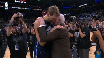 NBA例行賽最後日 馬刺致敬影片逼哭諾威斯基