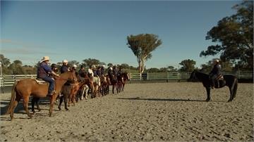 澳洲農莊成心靈診所 騎馬舒緩軍人創傷壓力症候群