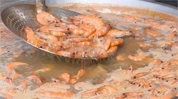 漁民北上發送「 無毒台灣蝦」挺養殖業!黃國良:館長欠他們一個道歉