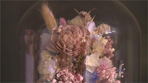 從相框到壁畫 「乾燥花」裝置藝術添生活情趣