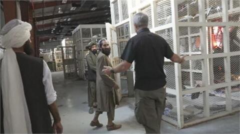 美軍撤退後的阿富汗巴格蘭空軍基地 大型監獄罕見曝光
