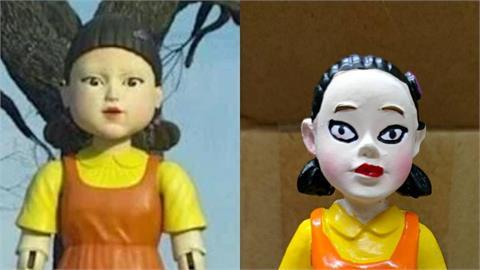 網購《魷魚遊戲》木頭人娃娃!開箱網看傻:比原版驚悚