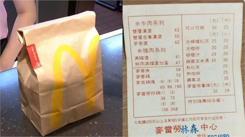 她PO麥當勞30年前「第1張菜單」!網友回憶全湧現:當年超奢侈