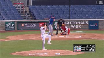 MLB/泰勒雷射肩演出再見雙殺 道奇一分險勝教士