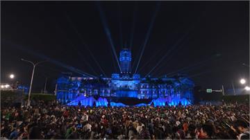 總統府音樂會首次開放全民入場 3萬人嗨翻凱道