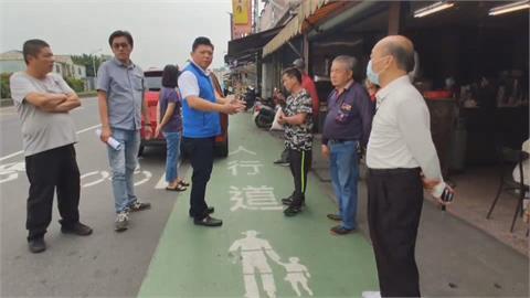 劃設3km人行道取締違停 店家怨影響生意