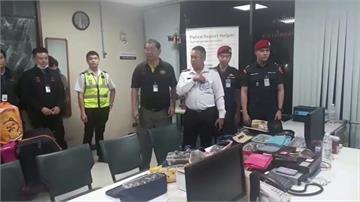 走私!台灣夫婦被泰國海關搜出95隻印度星龜