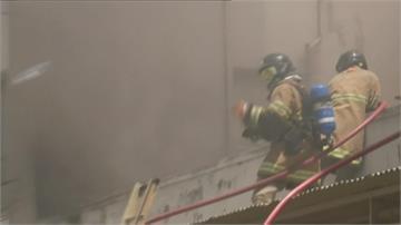 巴西醫院大火 急撤200病患