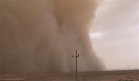 中國河西走廊、內蒙古再刮沙塵暴 今年第八度恐影響北京