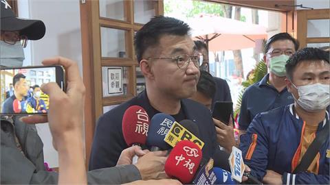 快新聞/韓國瑜成選黨魁對手? 江啟臣「哈哈」曝雙方溝通很暢通