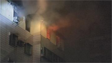 台南民宅火警 口角爭執後女子放火燒床單