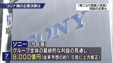 宅經濟發威!Sony上半年與上季財報雙增