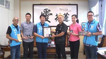 就是愛台灣!日人義賣捐款50萬 手臂刺青「花蓮台灣」