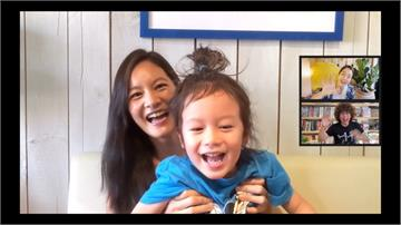 Janet在家育兒 苦笑「比工作還累」超萌四歲兒Egan亂入搶娘風采