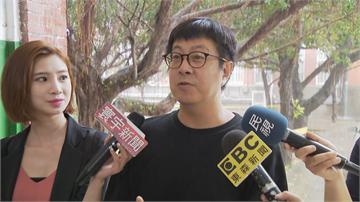 快新聞/尹立頂著大雨前往投票 談投票干擾:一件都不該發生!