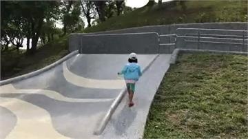 羅東運動公園動線大碗公溜滑梯 家長控動線亂讓孩子「翻柵欄」