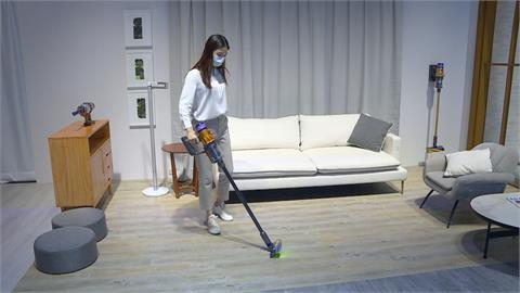 吸塵器新增雷射偵測功能  讓灰塵無所遁形