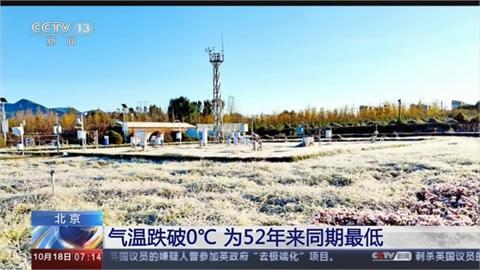 中國入秋後首波寒流!北京氣溫跌破零度 創52年來同期最低紀錄