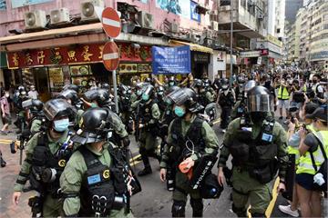 快新聞/港人九龍遊行訴求重啟選舉 油麻地一帶至少30人被捕