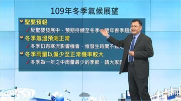 快新聞/今年冬季偏乾冷 氣象局:平均氣溫接近正常但仍有寒流