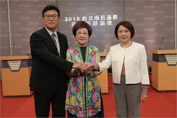 台北市長選舉首場跨黨派辯論會 三選將砲轟柯P