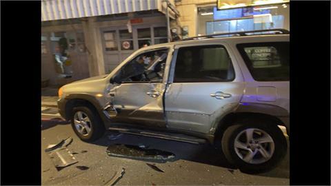 前廣播電台台車酒駕釀禍 連撞6輛汽機車